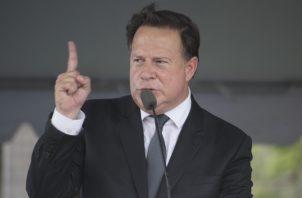 Juan Carlos Varela justifica su mala gestión. Foto de archivo