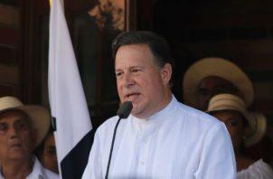 ¡Error! Presidente Juan Carlos Varela anuncia fin de su mandato en la Villa de Los Santos. Foto: @PresidenciaPma