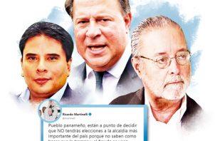 Peligra elecciones para la Alcaldía de Panamá.