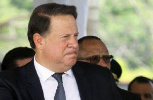 Juan Carlos Varela está entre los testigos de este juicio. Foto de archivo