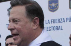 El presidente saliente, Juan Carlos Varela, ha mostrado su nivel de odio hacia Ricardo Martinelli.