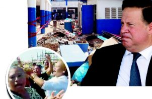 A pesar de  la crisis del sector educativo, el presidente Juan Carlos Varela no reconoce tal problema.