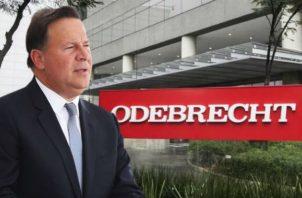 """El expresidente Juan Carlos Varela en su momento admitió haber recibido """"donación"""" de Odebrecht."""