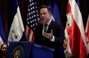 El presidente, Juan Carlos Varela puntualizó que Panamá al ser una pieza del corredor del narcotráfico, los criminales usan los puertos de la provincia de Colón