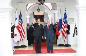 Presidente Juan Carlos Varela se va de viaje, pero no anuncia el destino. Foto: Panamá América.