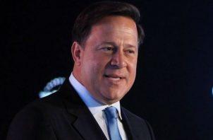 Presdiente Juan Carlos Varela reta al PRD. Foto/Archivos