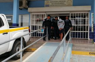 Cabe recordar, que Henyerbern Serrano Jerez, fue aprehendido en San Miguelito. Foto/Eric Montenegro