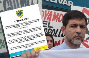 """Rafael Rodríguez: """"Si se actúa con preferencias para uno, igual trato se debería dar al resto"""". Foto: Panamá América."""