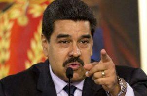 El atentado contra Nicolás Maduro ocurrió el pasado 4 de agosto. EFE