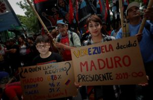 """La delegación venezolana, liderada por el embajador Samuel Moncada, rechazó la celebración de la reunión del Consejo Permanente de la OEA como un """"acto hostil e inamistoso"""" ."""