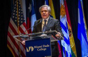 Almagro urgió al Organismo para la Proscripción de las Armas Nucleares en América Latina y el Caribe (OPANAL) a comprobar si Venezuela cumple con el tratado de Tlatelolco para la desnuclearización del continente.