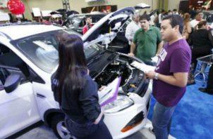 La venta de autos hasta julio pasado presentó una leve mejoría. Foto: Archivo.