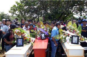 Una mula provocó la desgracia en una familia en Veraguas. Foto: Víctor Rodríguez.