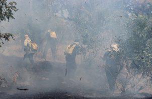 El Ministerio de Salud (MInsa) han estimado un aumento en el número de casos de personas con problemas respiratorios a causa de la inhalación de humo. Foto/Víctor eliseo Rodríguez