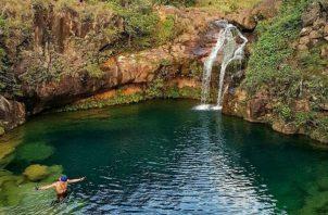 El lugar es hermoso y atrae la atención de los turistas, pero no todos están en condiciones de visitarlo. Foto: Víctor Eliseo Rodríguez.
