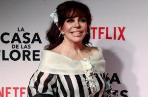 La actriz mexicana, Verónica castro lleva  53 años de carrera artística.