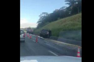 Un muerto deja accidente de tránsito en la Vía Centenario. Foto/Cortesía