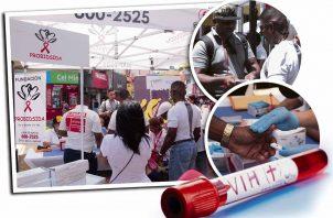 Solo en Probidsida, en el mes de enero se dieron 36 casos de VIH positivo.