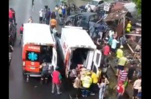 Una mujer perdió la vida en trágico accidente en Villa Lorena. Foto/Redes Sociales