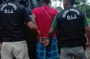 Una vez el tribunal de juicio dicto la sentencia que deberá pagar el ahora condenado, ordenó a miembros de la Policía Nacional que fuera devuelto a la cárcel de David