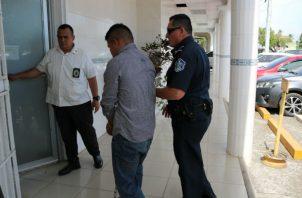 El acusado compareció ante el Sistema Penal Acusatorio (SPA). Foto: Melquíades Vásquez.