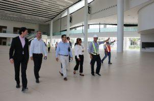 El Centro de Convenciones de Amador tiene una capacidad máxima para más de 20 mil personas