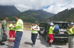Se han incrementado los rescates de excursionistas en el Volcán Barú.