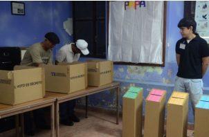 El voto adelantado es una nueva modalidad que surge de las modificaciones hechas al Código Electoral. Foto: Archivo