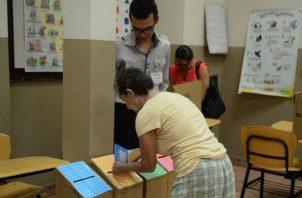 Panameños se muestran dispuestos a votar. Foto de archivo