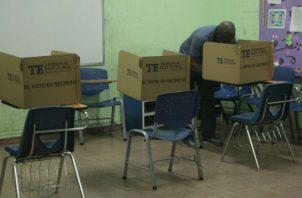 Hay  4,507 votantes inscritos en el voto adelantado. Archivo