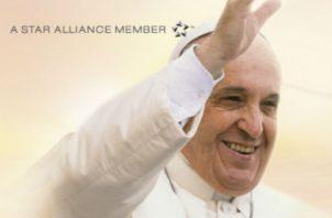 Esta será la sexta ocasión en que Avianca es elegida para llevar a bordo de sus aviones a un Sumo Pontífice.