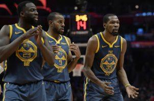 Warriors se mantienen al frente de la División Pacífico. Foto:AP