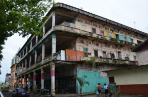 El inmueble histórico está sumamente deteriorado. Foto: Diómedes Sánchez.