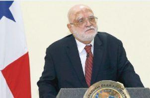 Wilfredo Sáenz, magistrado de la Corte Suprema de Justicia, que verá los recursos presentados contra Martinelli. Foto de archivo