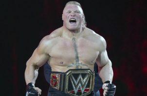 Brock Lesnar estrella de la WWE Foto AP