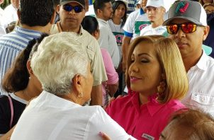 Yanibel Ábrego se reeligió como diputada para el periodo 2019-2024.