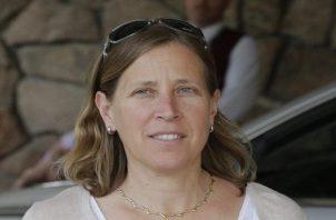 Susan Wojcicki, directora ejecutiva de YouTube.