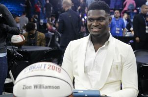 Zion Williamson, para muchos el próximo Lebron James. Foto:AP