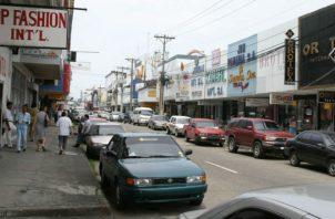 La Zona libre de Colón ha desmejorado su movimiento comercial. Foto/Archivo