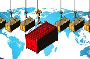 Una de las razones es la 'guerra' arancelaria entre los Estados Unidos y China/ Ilustración: AUZLC.