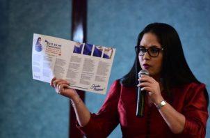 Extranjeros en Panamá exigen que sancionen a Zulay Rodríguez; la consideran xenófoba