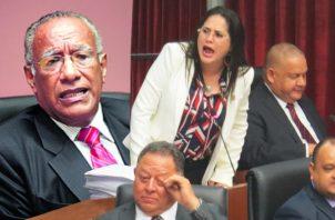 Zulay Rodríguez niega que haya un impulso de xenofobia con su anteproyecto. Foto: Panamá América.