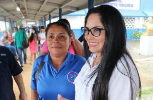 Diputada del PRD, Zulay Rodríguez.