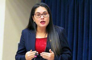 Zulay Rodríguez presentó la denuncia penal en la Procuraduría General de la Nación.