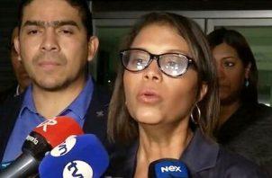 La fiscal Zuleyka Moore ha salido a criticar la negación de la prórroga. Foto de archivo