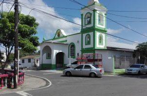 La demolida iglesia de Capira conservaba la fachada de 1867, según expertos.  Eric Ariel Montenegro