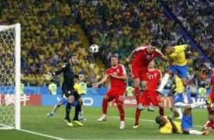 Gol de Thiago Silva Foto AP