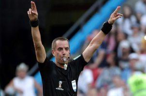 Geiger es uno de los árbitros con más participación en Rusia.