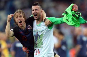 Modric casi deja a Croacia fuera.