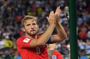Harry Kane clasificado a cuartos con Inglaterra. Foto EFE